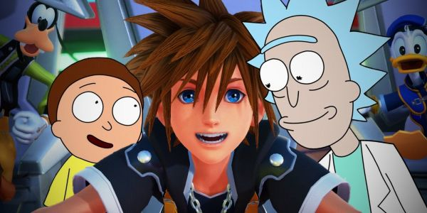 Rick and Morty Confirm They're Kingdom Hearts Superfans