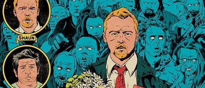 Cool Stuff: Edgar Wright's Cornetto Trilogy Gets Three Comic Book Style Prints by Johnny Dembrowski