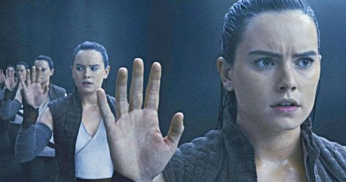 Star Wars Fan Wins the Weekend with Amazing Mirror Cave Rey