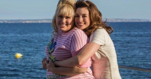First Look at Rebel Wilson & Anne Hathaway in Dirty Rotten