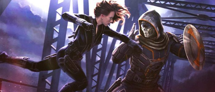 'Black Widow' Concept Art: Black Widow Takes a Flying Leap at Taskmaster