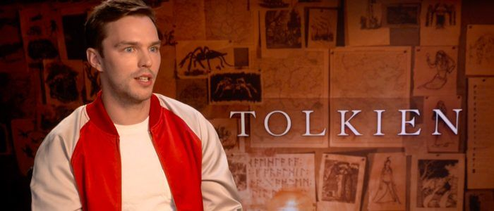 Video: /Film Visits 'Tolkien' Locations and Interviews Stars Nicholas Hoult and Lily Collins