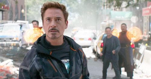 Robert Downey Jr. Shares Awesome Infinity War Video from the