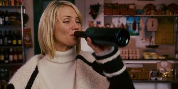 What Cameron Diaz Was Really Drinking In The Holiday And What Movie She Actually Got Drunk In