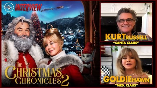 CS Video: The Christmas Chronicles 2 Interview With Russell & Hawn!