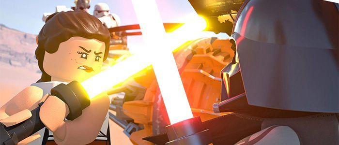 'The LEGO Star Wars Holiday Special' Will Have Rey Fight Darth Vader and More Crossover Craziness