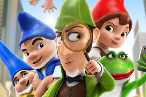 Sherlock Gnomes Motion Posters are Here