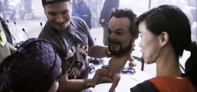 VOTD: See a Haunting Animatronic Baby with Jack Black's Adult Head from 'The House with a Clock in Its Walls'