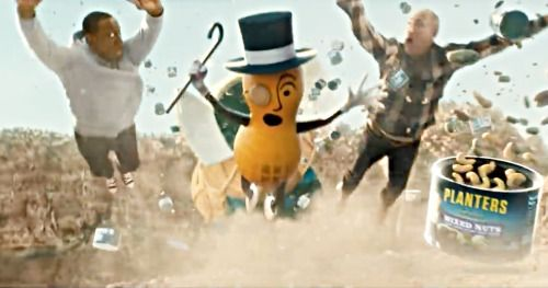 Mr. Peanut Dies Saving Wesley Snipes in Planters Super Bowl