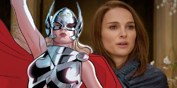 Love And Thunder's Natalie Portman Preps With Mighty Thor Comics