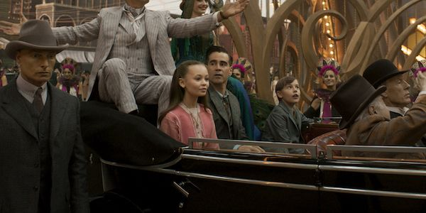 Colin Farrell Loved The Dumbo Sets So Much He Spent Extra Time Just Wandering Around