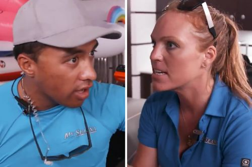 'Below Deck': That Time Ross And Rhylee Got Into An Argument During Our Interview