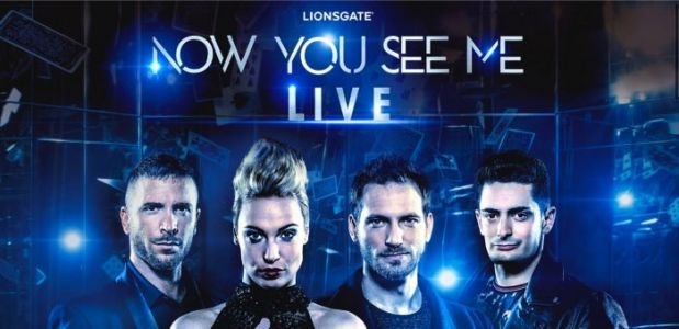 'Now You See Me Live' Will Bring the Four Horseman to Your City for a State-of-the-Art Magic Show