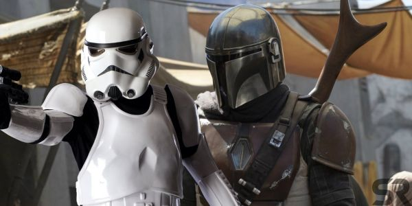 Star Wars: The Mandalorian Set Photos Reveal Stormtroopers