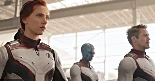 First Official Look at Endgame Advanced Tech Quantum Realm