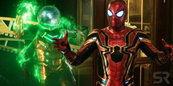 Spider-Man & Mysterio Duke It Out In Far From Home Billboards