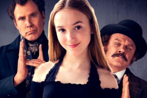Actress Scarlet Grace of Will Ferrell's 'Holmes & Watson' Talks With Us About The Film