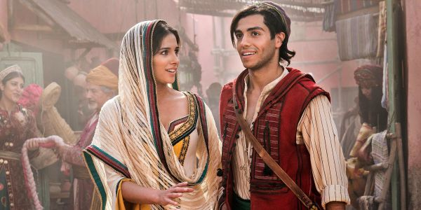 Aladdin Meets Jasmine In New Live-Action Remake Image