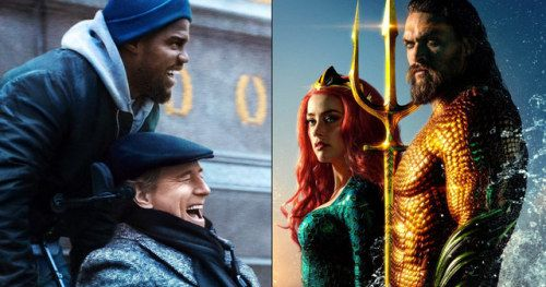 The Upside Steals Top Spot at the Box Office as Aquaman Crosses