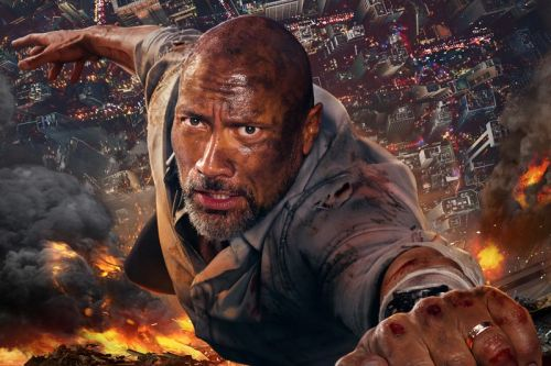 The New Skyscraper Poster Featuring Dwayne Johnson!