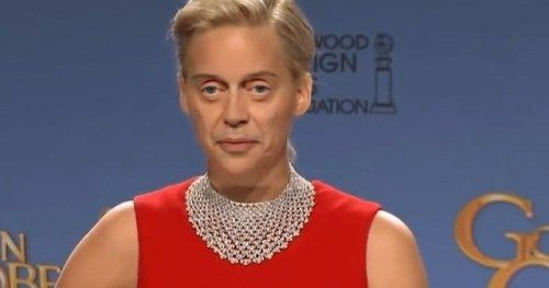 Buscemi Can't Handle Jennifer Lawrence Face Swap in Creepy