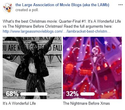 LAMBracket: Best Christmas Movie Quarter-Final 1 Results