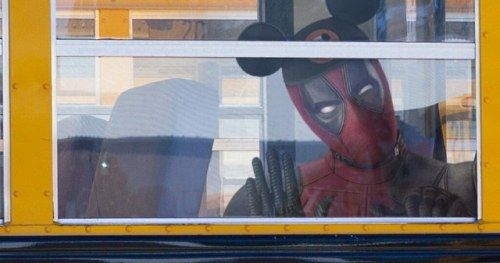 Deadpool Goes to Disney School as Ryan Reynolds Celebrates Fox