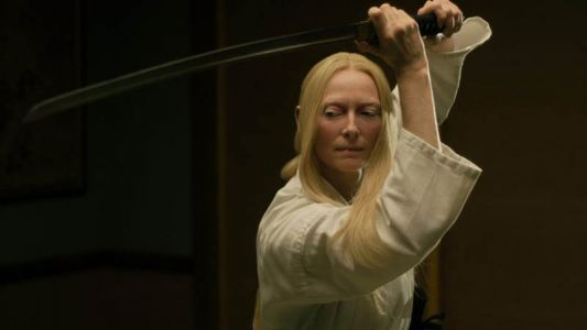 Tilda Swinton is a Zombie-Fighting Samurai in The Dead Don't Die Spot