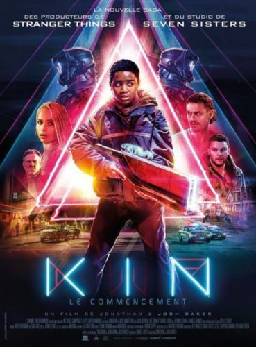 Kin Movie starring Jack Reynor, Zoë Kravitz, Myles Truitt, Carrie Coon, Dennis Quaid, and James Franco