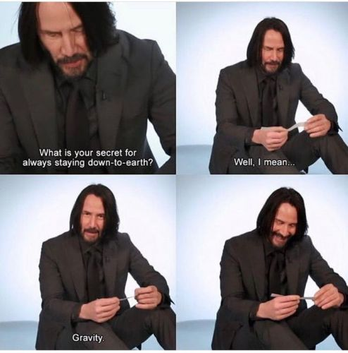 10 Funny Keanu Reeves Memes That Are As Pure As He Is
