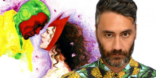Taika Waititi Hilariously Pitches A Vision & Scarlet Witch Rom-Com