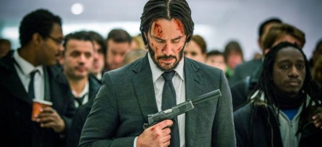 The 'John Wick: Chapter 3' Poster Has Keanu Reeves On the Outside Looking In