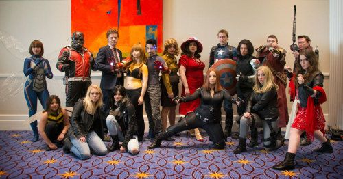 After the huge success of last year's Marvel cosplay photo