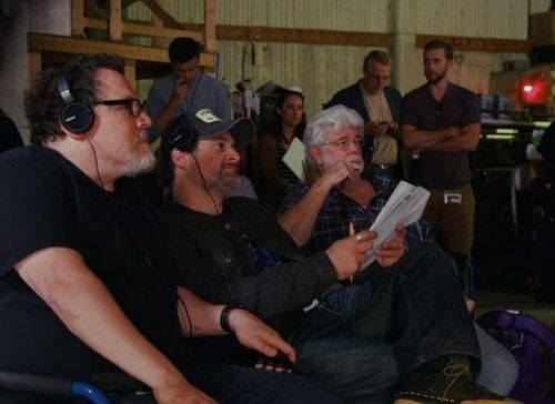 George Lucas Visits the Set of The Mandalorian in New Featurette