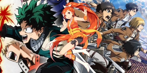 Attack on Titan & My Hero Academia First Seasons Removed From Crunchyroll