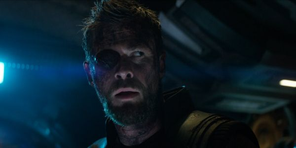 Thor Doesn't Have His Eye Patch In New Infinity War Art