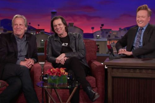 Jim Carrey Crashed Jeff Daniel's 'Conan' Interview And Turned It Into A 'Dumb And Dumber' Reunion