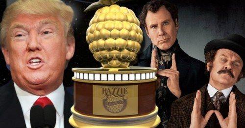 Holmes & Watson and Trump Top 2019 Razzie Awards Winners