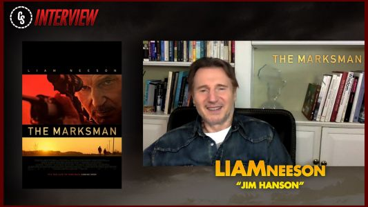 CS Video: The Marksman Interview With Star Liam Neeson!