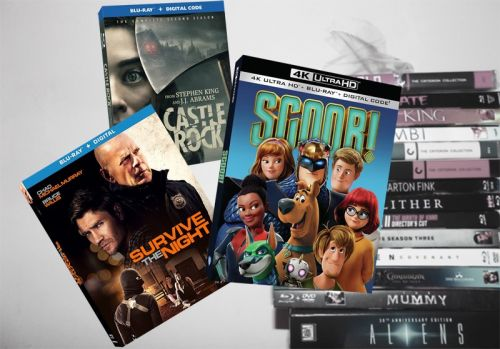 July 21 Blu-ray, Digital and DVD Releases