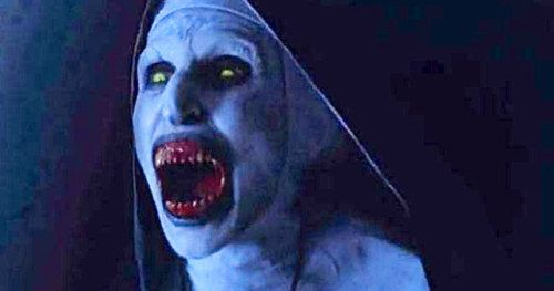 Valak Haunts the Abbey in Scary New The Nun TV SpotValak the