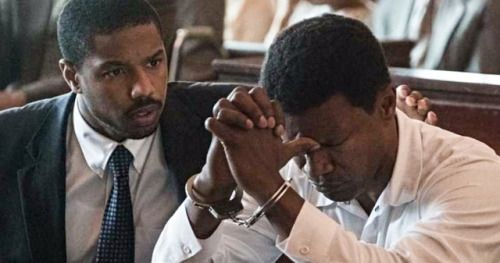Just Mercy First Look Takes Jamie Foxx & Michael B. Jordan