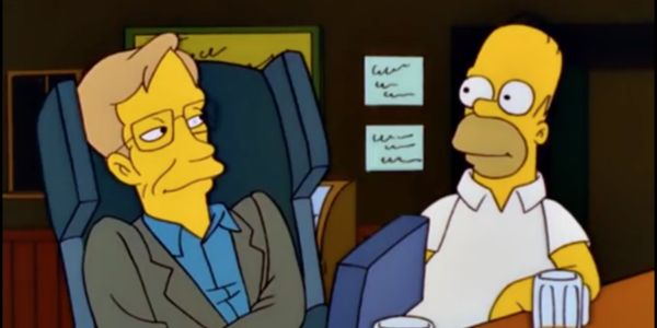 How The Simpsons Paid Tribute To Stephen Hawking