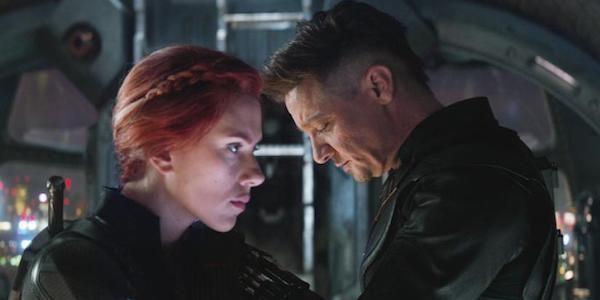 Avengers: Endgame's Jeremy Renner Shares Set Photo From That Black Widow Scene