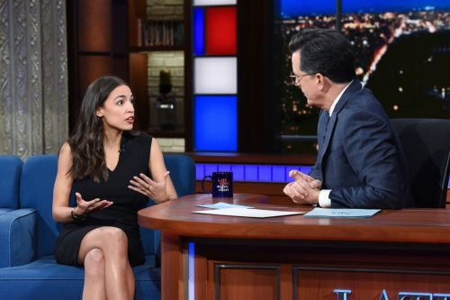 Alexandria Ocasio-Cortez Draws Massive Ratings on 'The Late Show with Stephen Colbert'