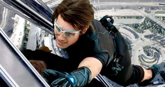 Tom Cruise Can't Stop Smiling While Doing His Own Stunts, Despite a Lot of Broken Bones