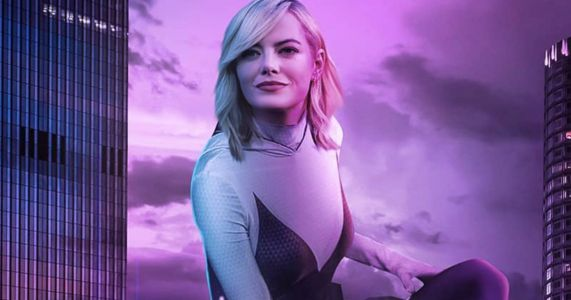 Emma Stone Is Spider-Gwen in Spider-Verse Live-Action Fan Made Poster
