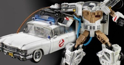 Ghostbusters Ecto-1 Is Officially a Transformers ToyHasbro is