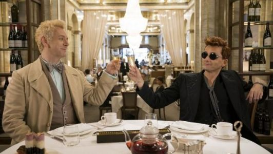 New Good Omens Teaser Clip Features David Tennant Singing a Lullaby