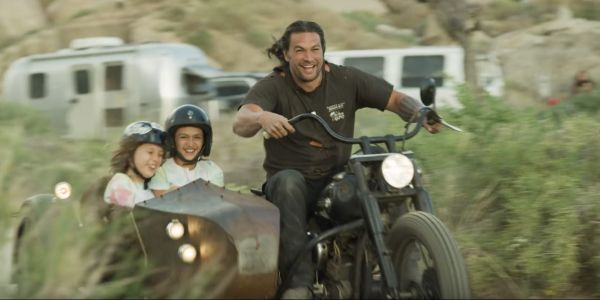Jason Momoa Builds a Motorcycle With His Kids in Emotional Father's Day Short Film
